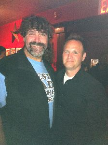 Mick Foley and Tim Krompier