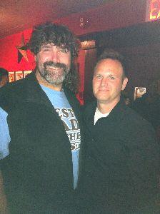 Mick Foley and Tim Krompier